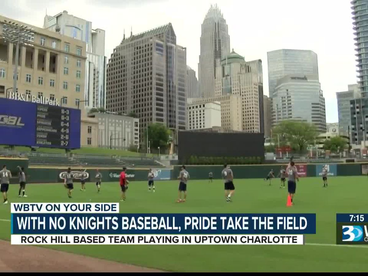 With no Charlotte Knights baseball, the Piedmont Pride take the field at Truist Field