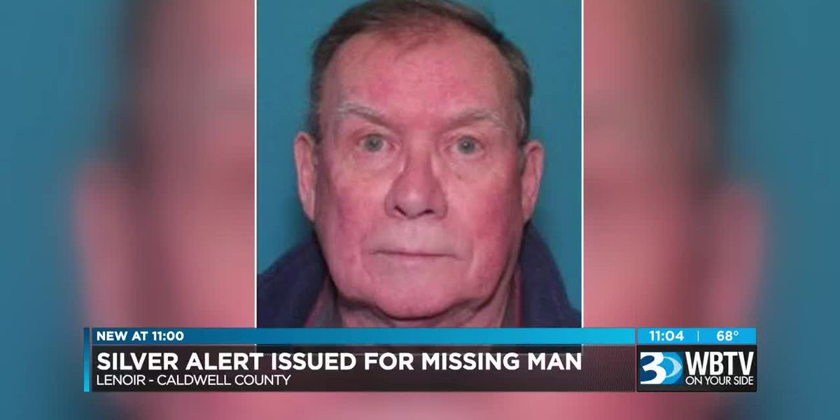 Silver Alert issued for missing Lenoir man believed to have dementia