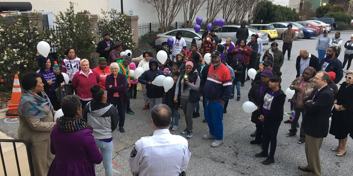 Community, family members mark anniversary of death of Ayanna Allen