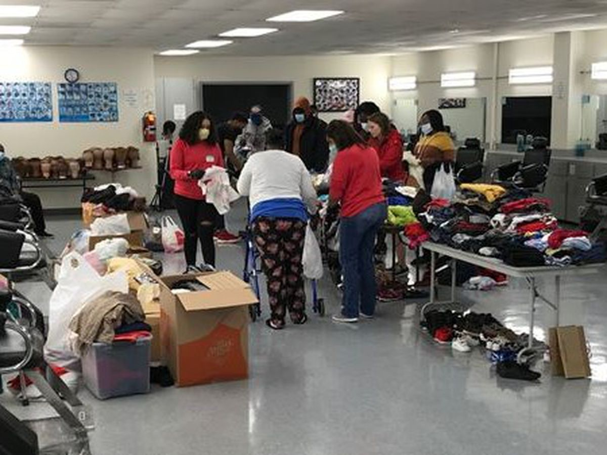 Charlotte group pampers homeless with haircuts, food, clothing