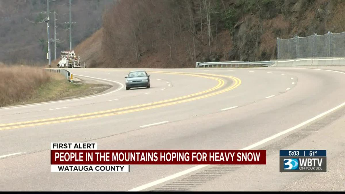 Mountains prepare for possible snow