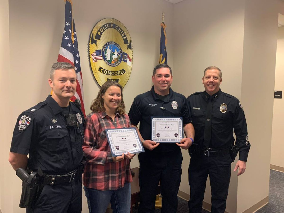 Concord Police officers honored for work on Prom Promise