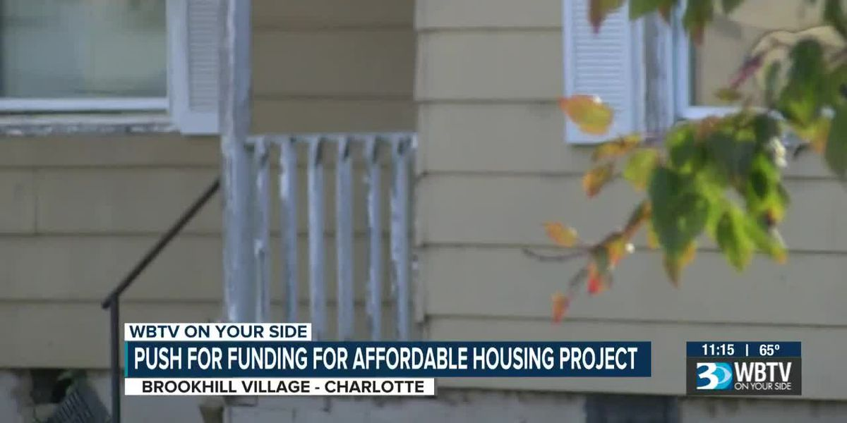 Push for funding for affordable housing project