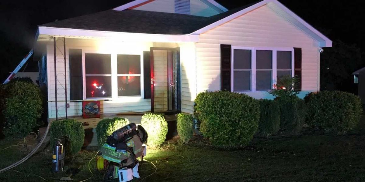 One flown to burn center following Concord house fire