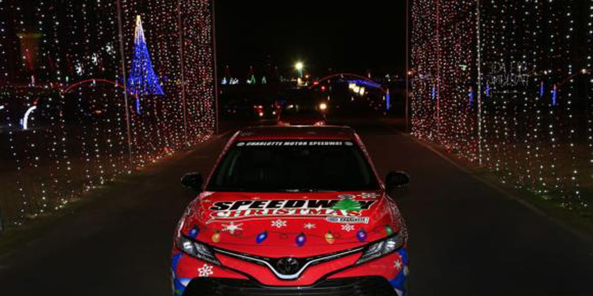 Five-story ferris wheel, live music, more lights highlight what's new at Speedway Christmas in Concord