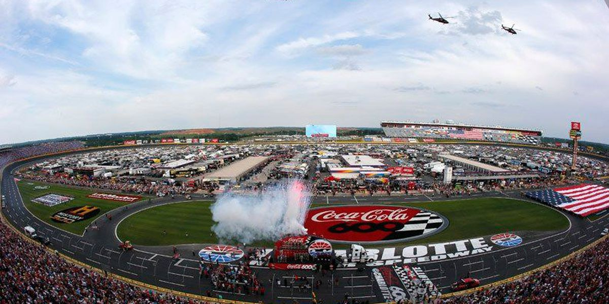 Charlotte Motor Speedway says there are lots of reasons to visit the track in the next few days