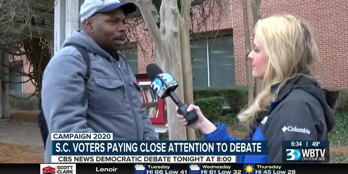 S.C. voters paying close attention to Democratic debate