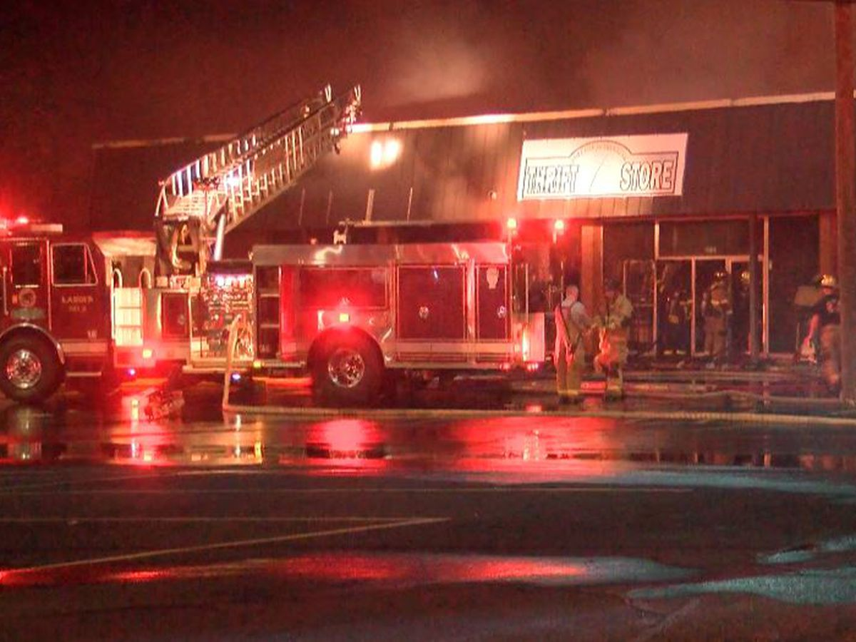 Fire damages Lenoir thrift store, several others businesses in strip mall
