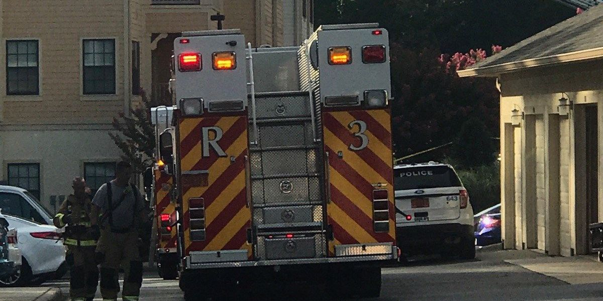 Fire sparks at northeast Charlotte apartment complex