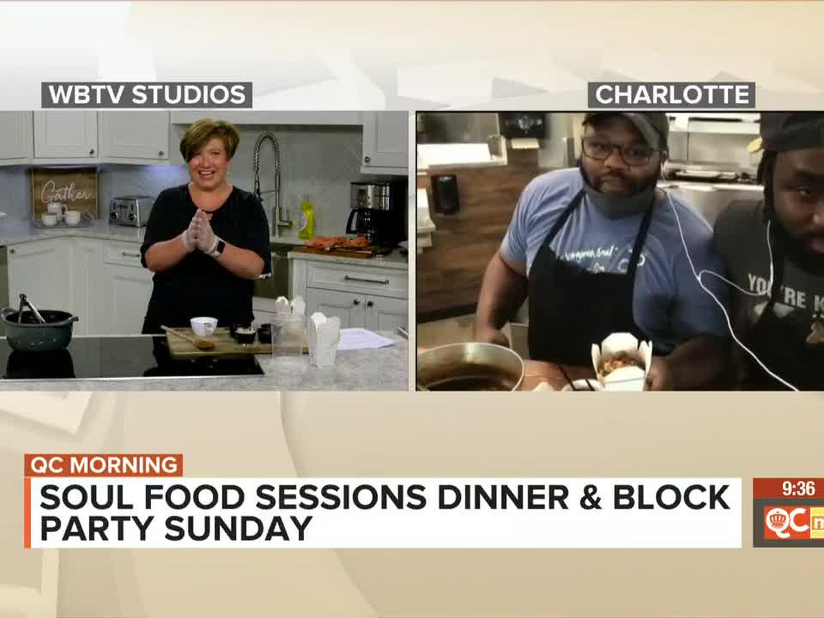 Soul Food Sessions Dinner & Block Party Sunday