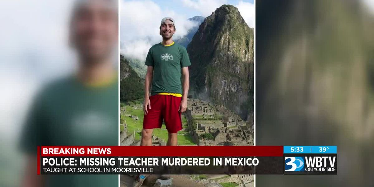 Police: Missing teacher murdered in Mexico