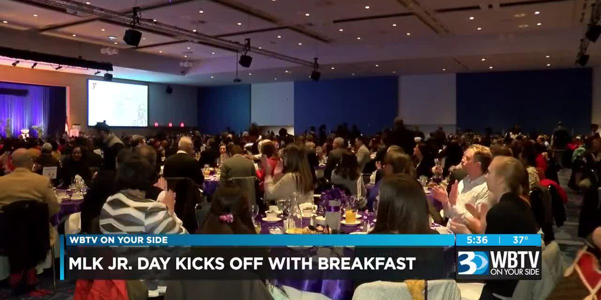 MLK Jr Day kicks off with 25th Annual MLK Holiday Breakfast