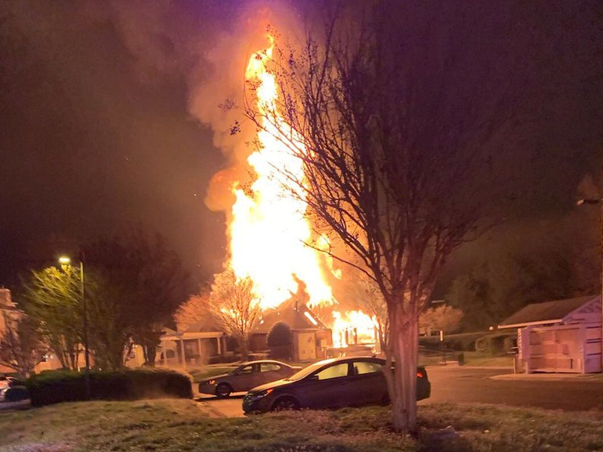 Massive Apartment Clubhouse Fire Intentionally Set