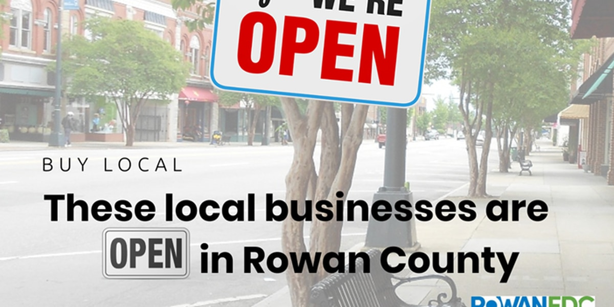 Rowan EDC launches new tool to let community know about businesses that are open