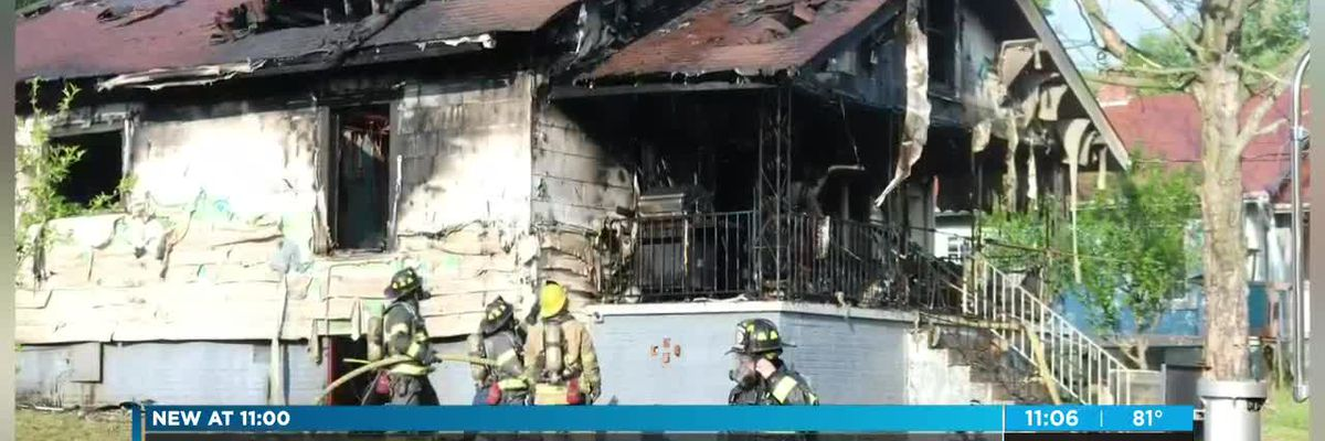 Neighbor rescues person from house fire