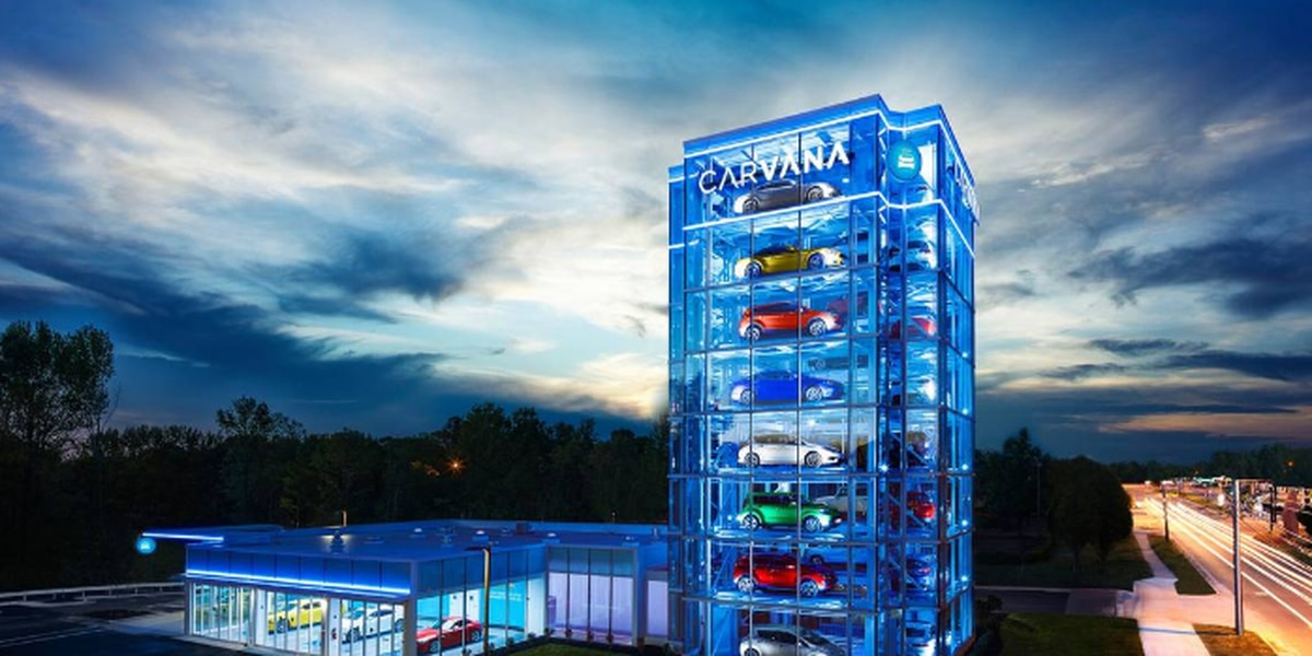 Here's how you now can buy a car from a giant vending ...
