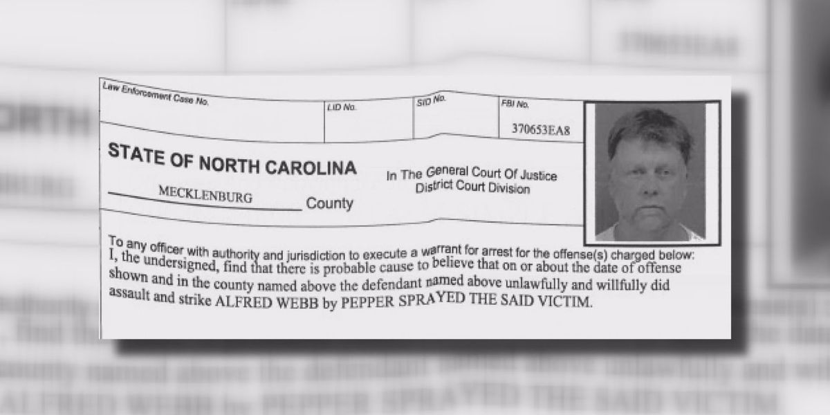 Charlotte tow truck driver accused of pepper spraying customer for third time