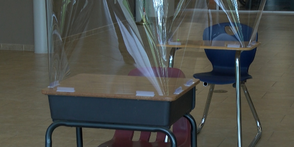 School districts investing in desk shields made in Huntersville