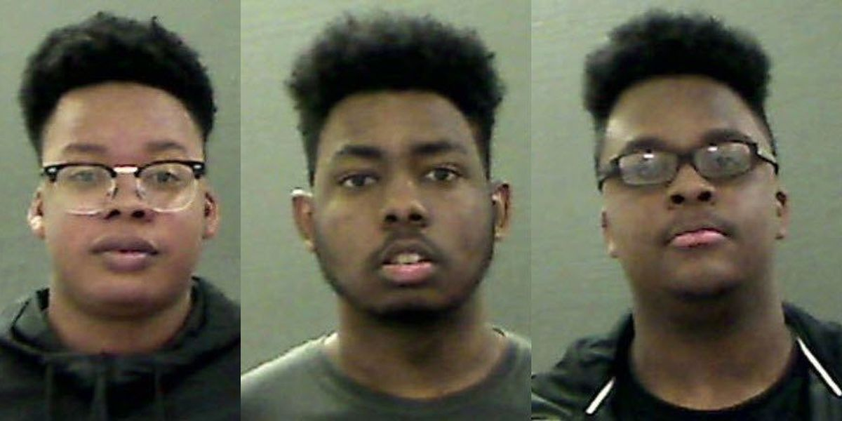 Teen trio charged in string of vandalism cases in Statesville