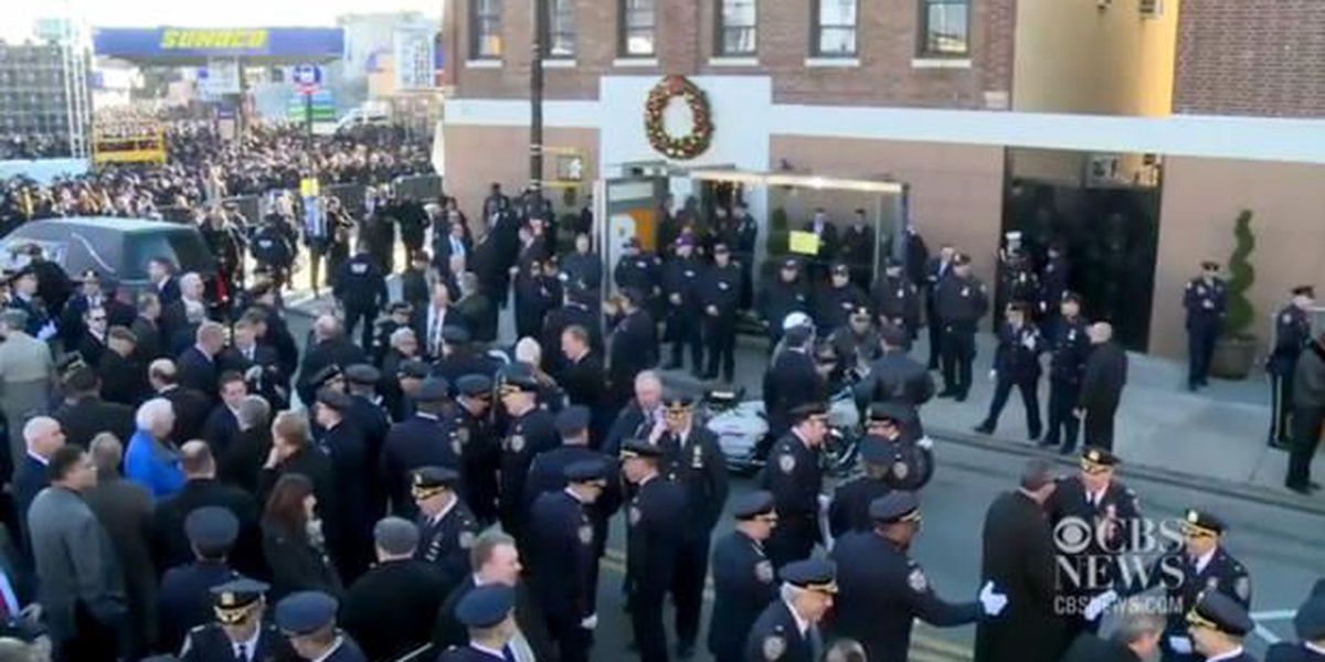 Landis officers among the thousands in New York to honor slain officers