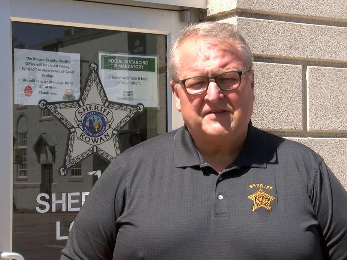 Rowan Sheriff Kevin Auten offers tips for a safe Halloween
