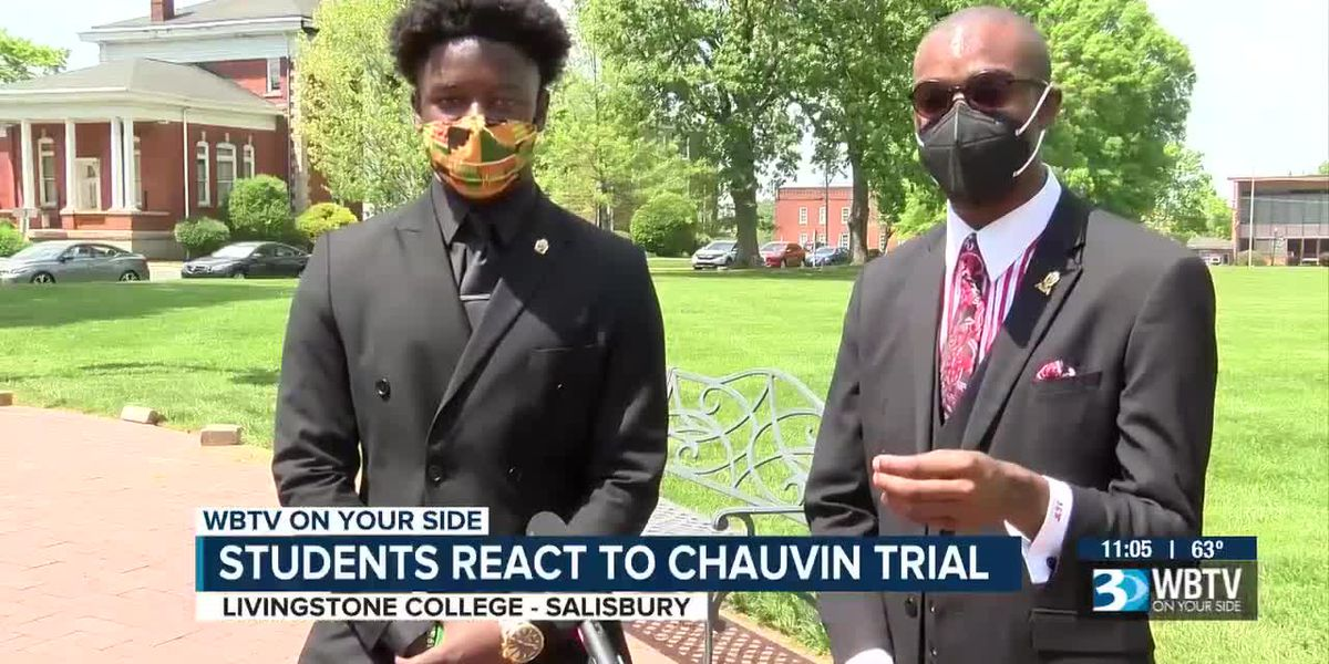 College students react to Derek Chauvin trial