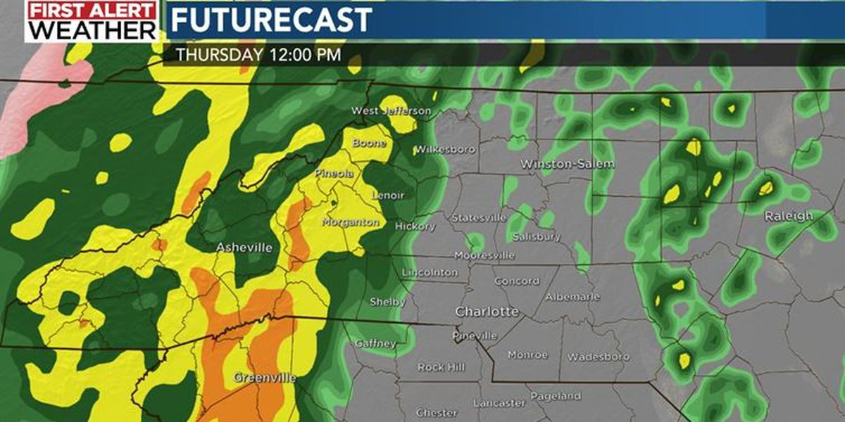 FIRST ALERT: Heavy rain, strong storms and mountain snow to impact Christmas Eve