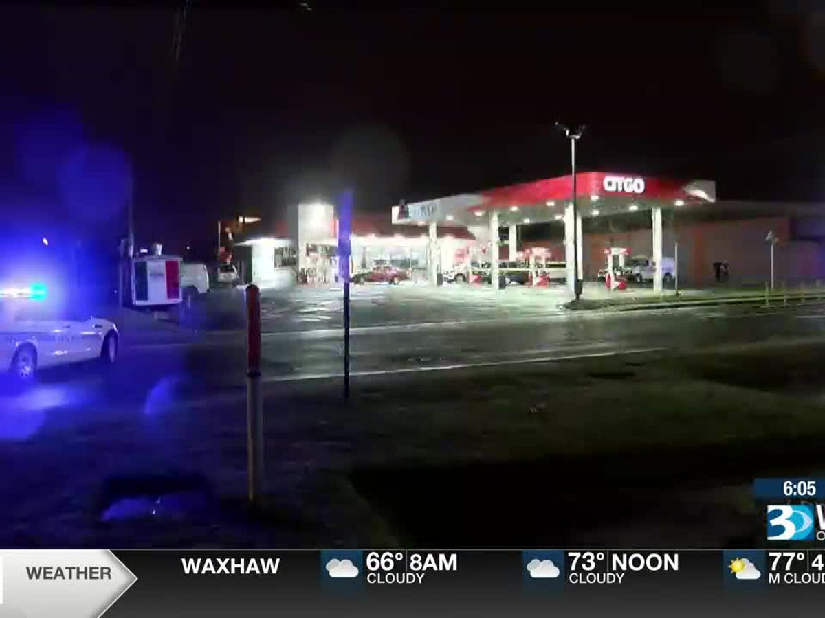 One seriously hurt in shooting at southwest Charlotte gas station