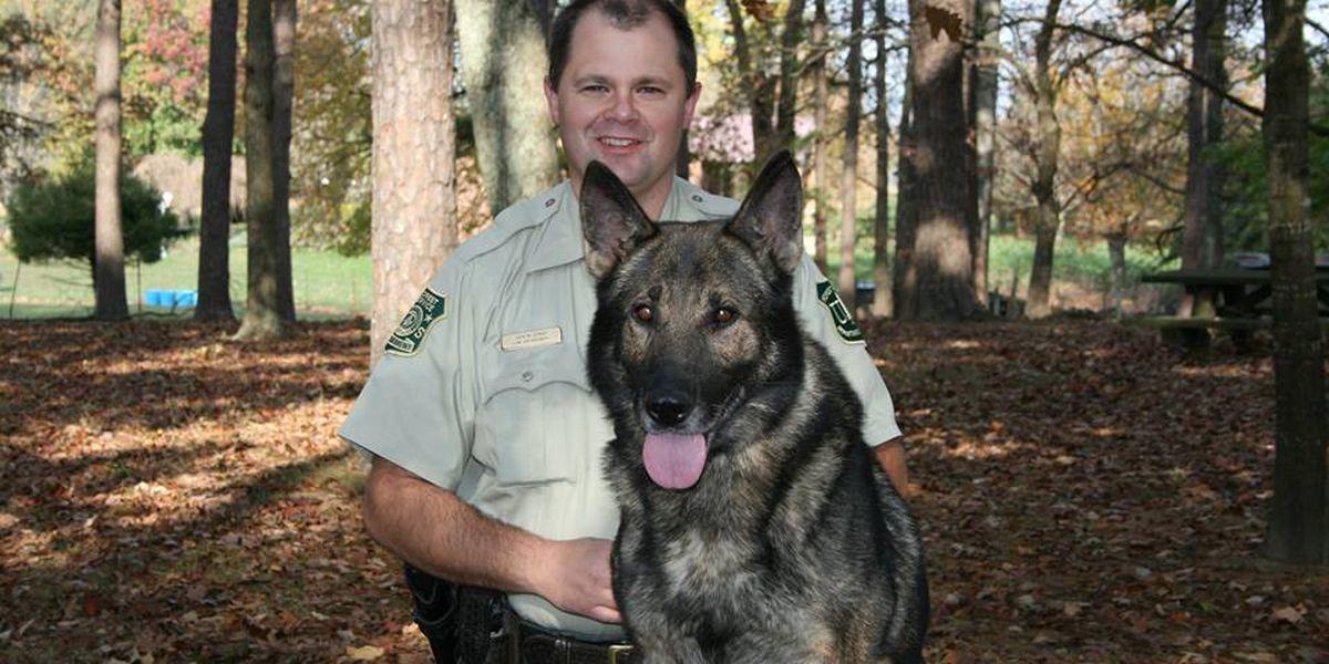 Agencies remember officer Jason Crisp, K9 Maros on 5-year anniversary of deaths