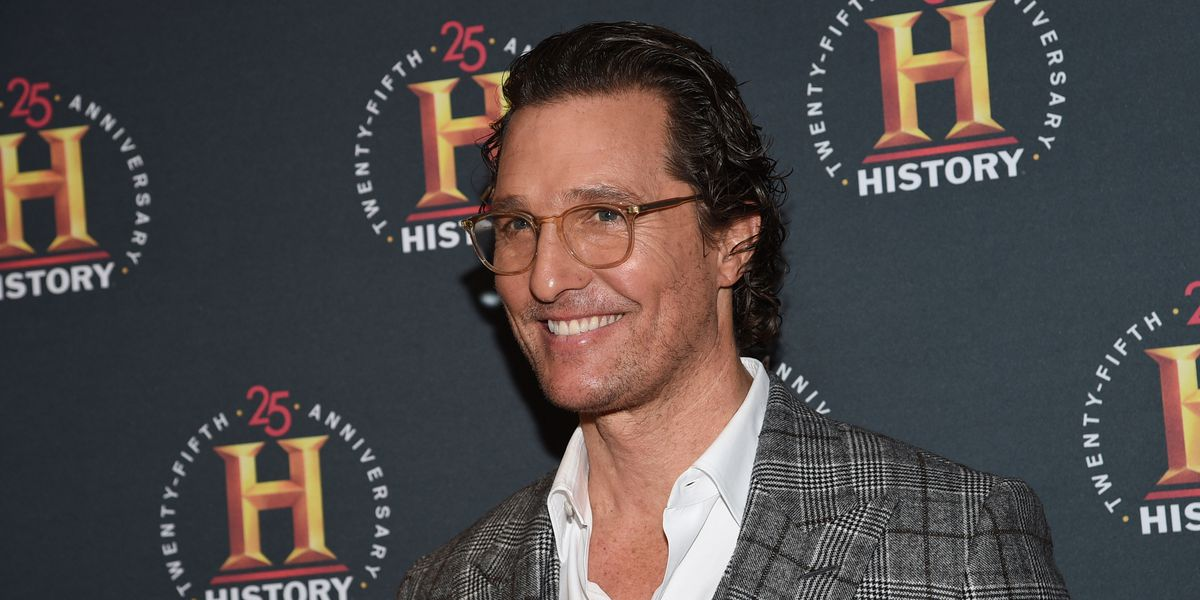 Matthew McConaughey delivers 110K face masks to hospitals in rural Texas