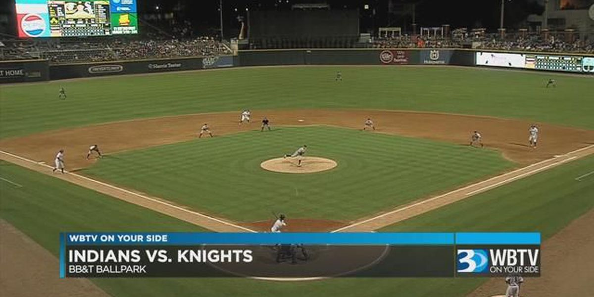 Knights knock off Indianapolis 6-5 in the 10th Friday at BB&T Ballpark