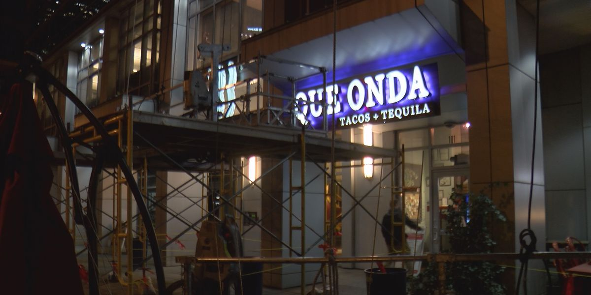 Uptown eatery says profits have been hurt by nearby construction