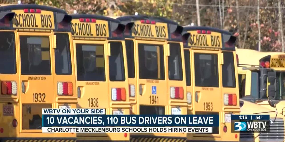 CMS holds bus driver hiring event