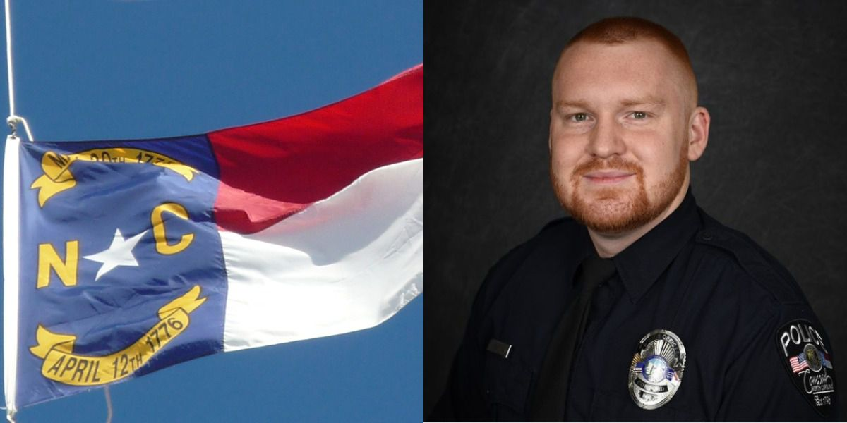 Gov. Roy Cooper orders N.C. flags to fly at half-staff in honor of fallen Concord officer Jason Shuping