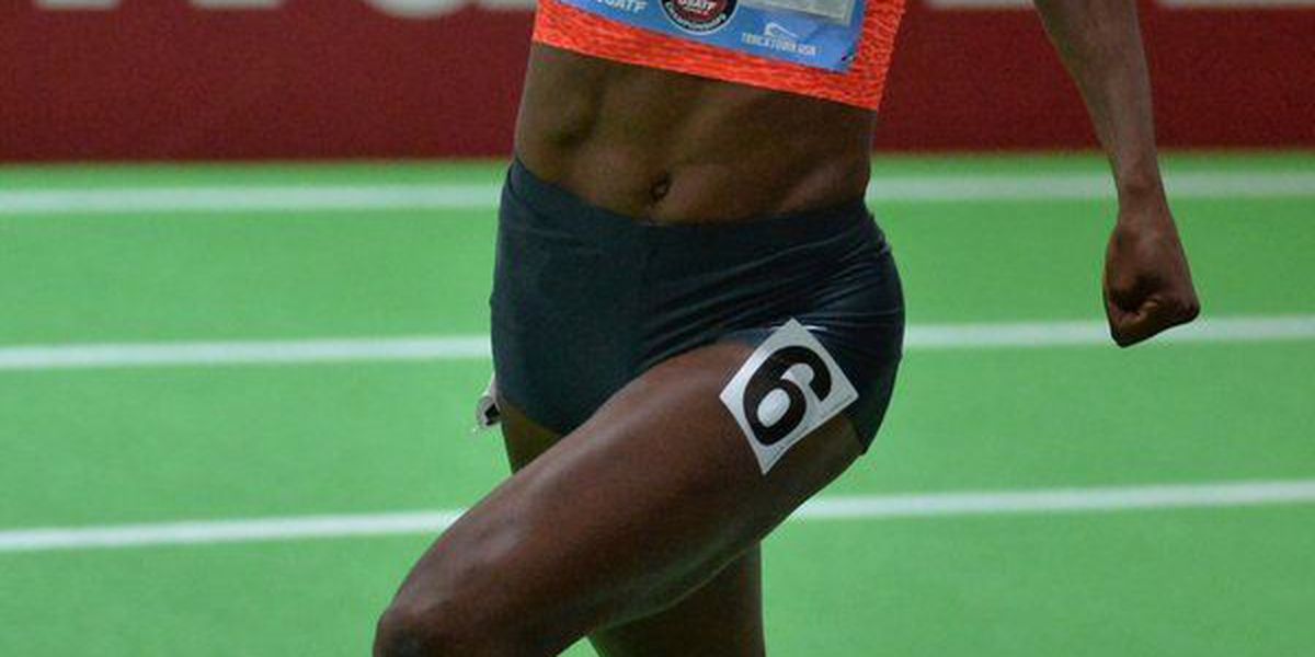 Livingstone's Quanera Hayes sets personal best, wins at national competition