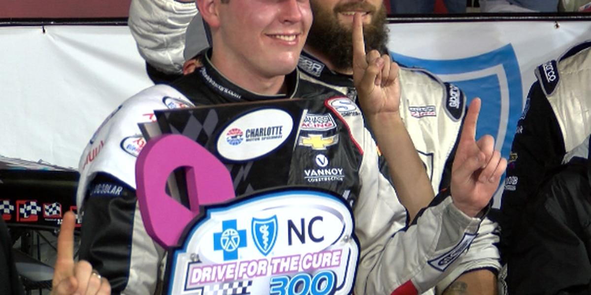 Bowman wins Xfinity race; 8 drivers advance in playoffs