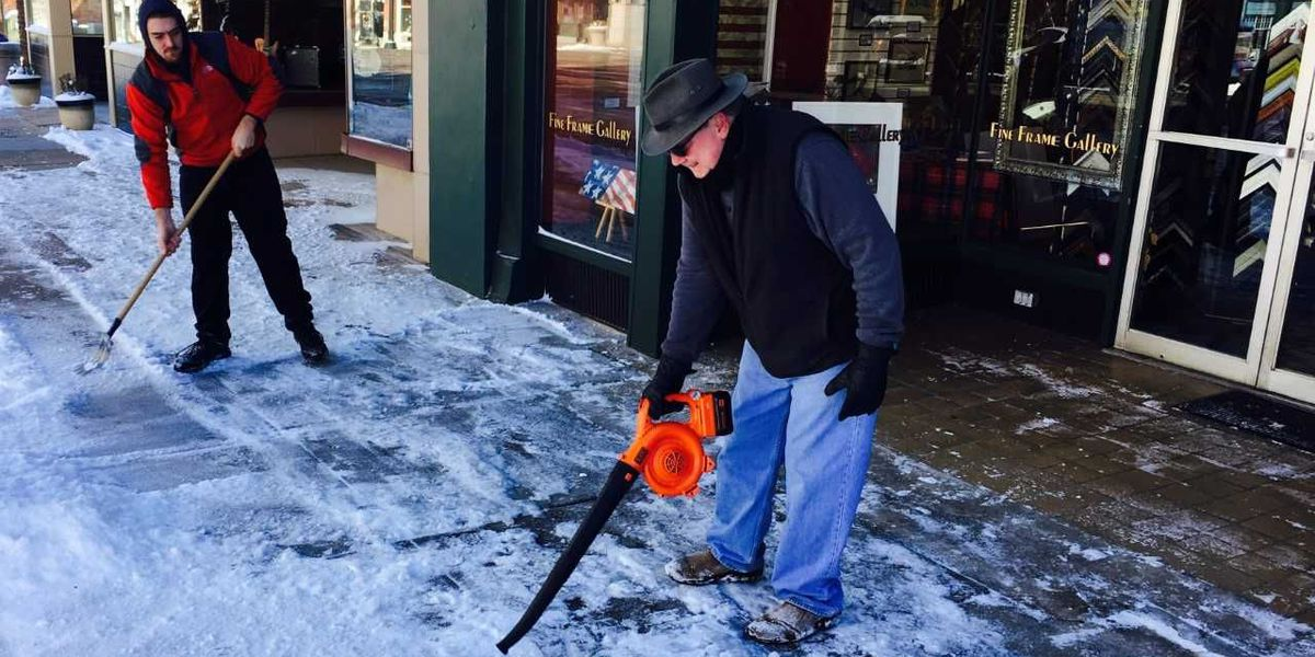 Weather closings hurt local shops