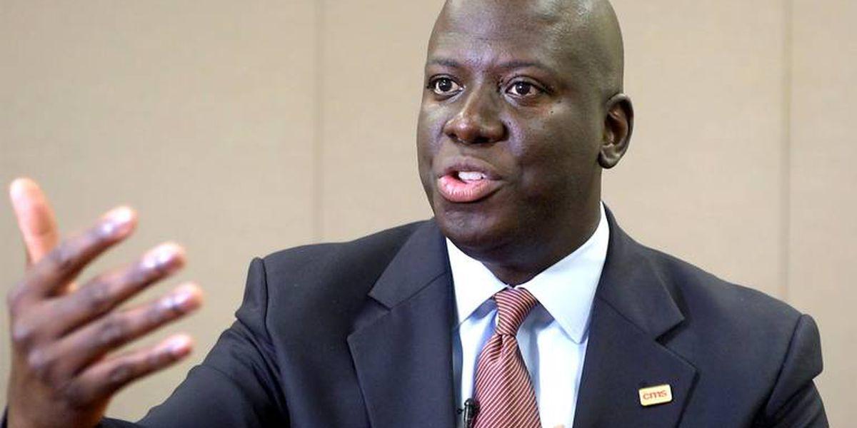 CMS Superintendent Earnest Winston announces Bell's palsy diagnosis