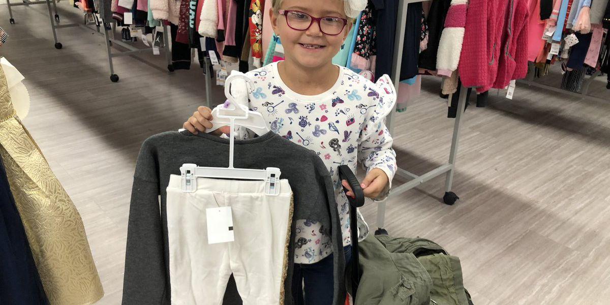 7-Year-Old Leukemia Survivor Goes on Charitable Shopping Spree