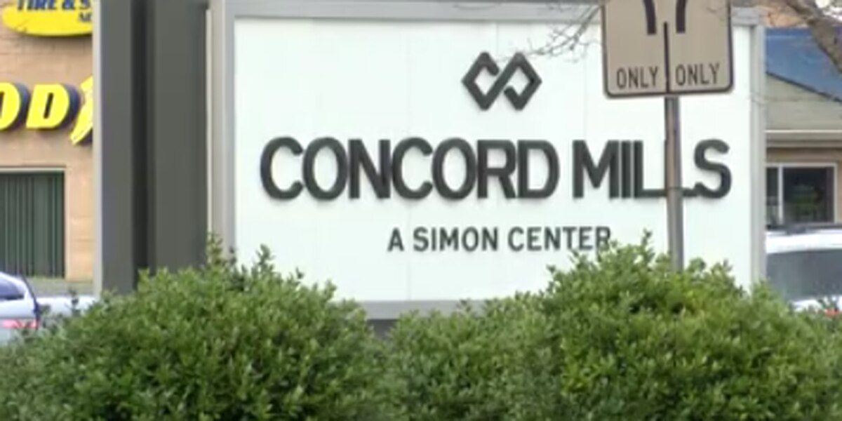 Eastbound closure on Concord Mills Boulevard this week