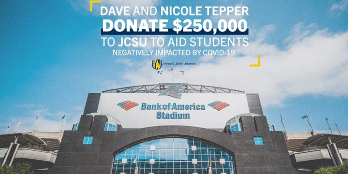 David and Nicole Tepper give $250K to aid JCSU students overcoming financial hardship