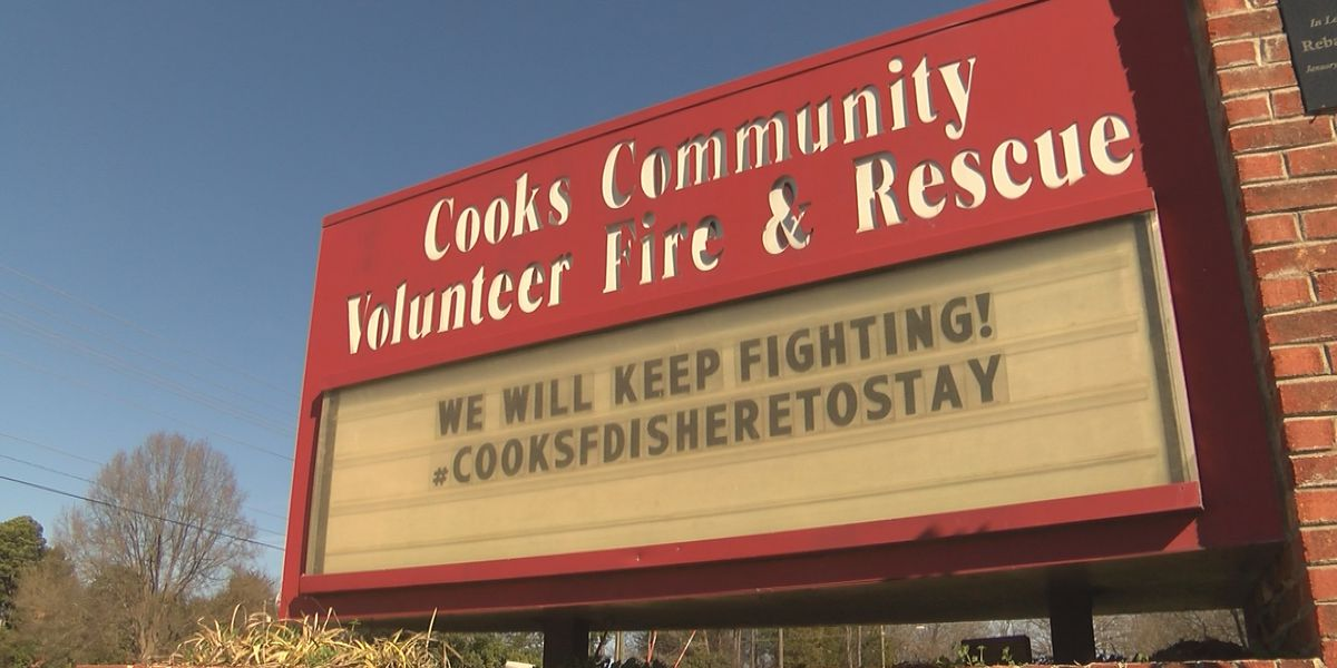 Meck Co. recommends shutting down Cook's Fire Department, firefighters say they're here to stay