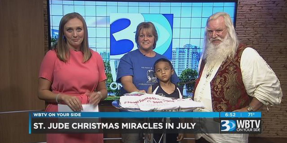 St. Jude Christmas Miracles in July
