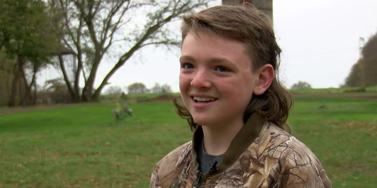 Illinois boy makes top 10 in contest for best kid's mullet in the country