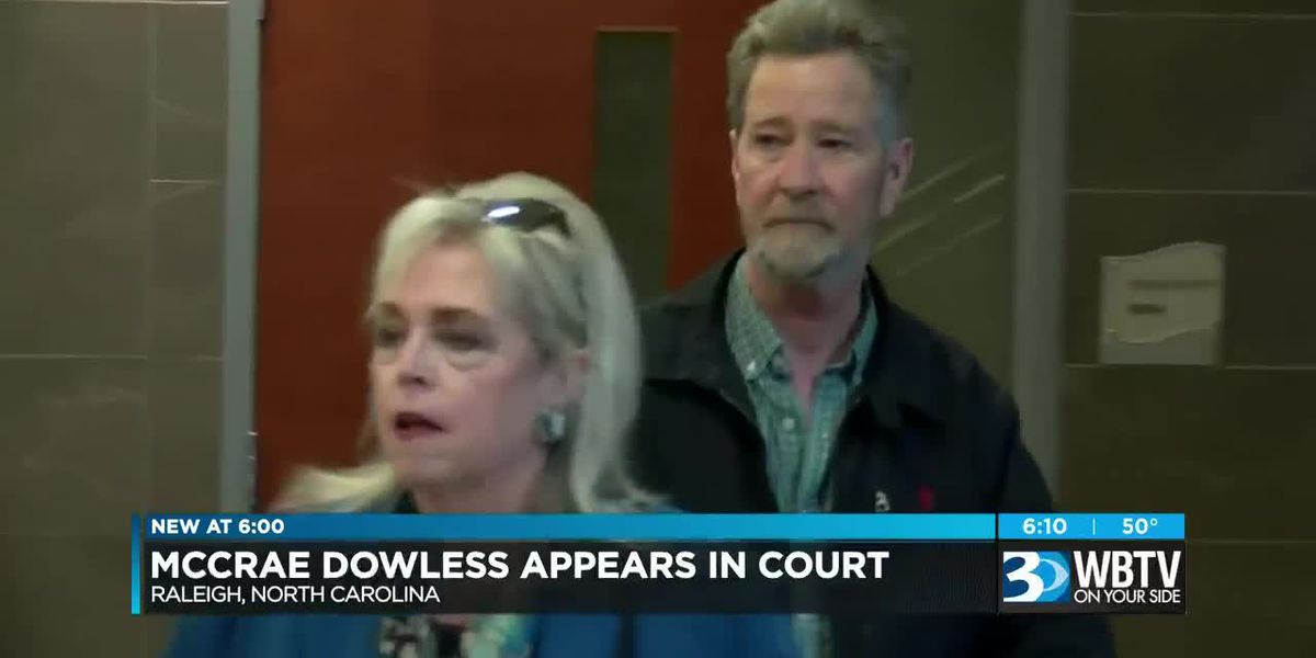 McCrae Dowless appears in court
