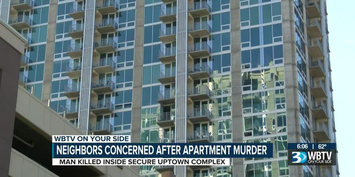 Neighbors concerned after murder at uptown apartments