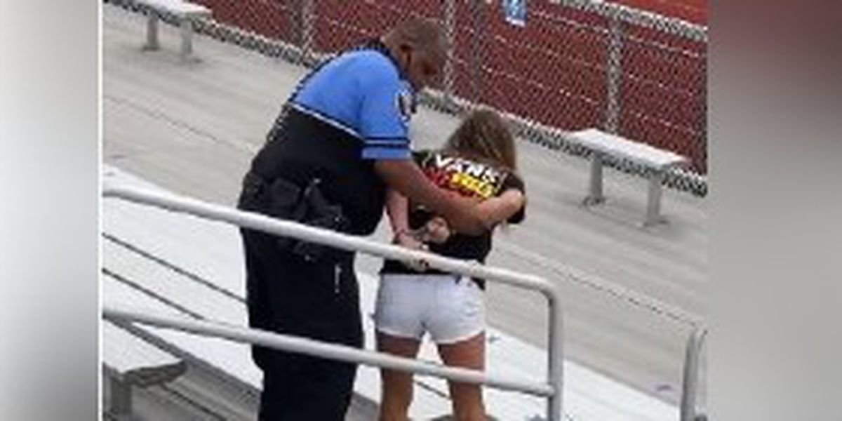 VIDEO: Woman apparently tased for refusing to wear mask at football game in Ohio