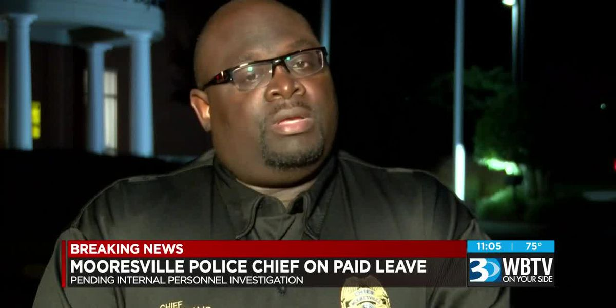 Mooresville police chief placed on administrative leave with pay