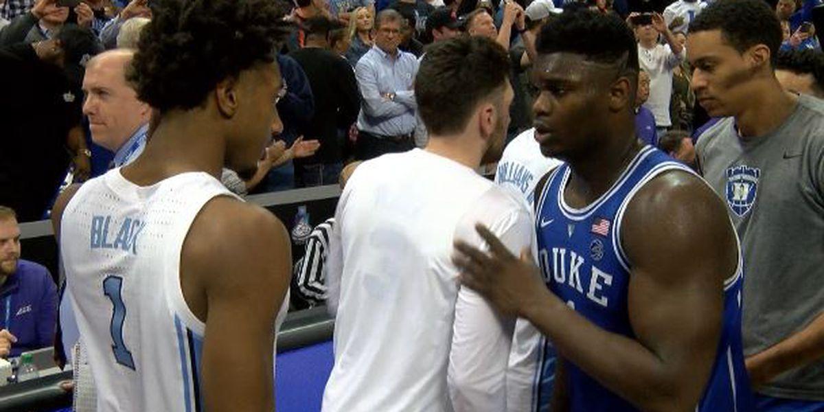 No. 5 Duke edges No. 3 UNC 74-73 in ACC semifinals