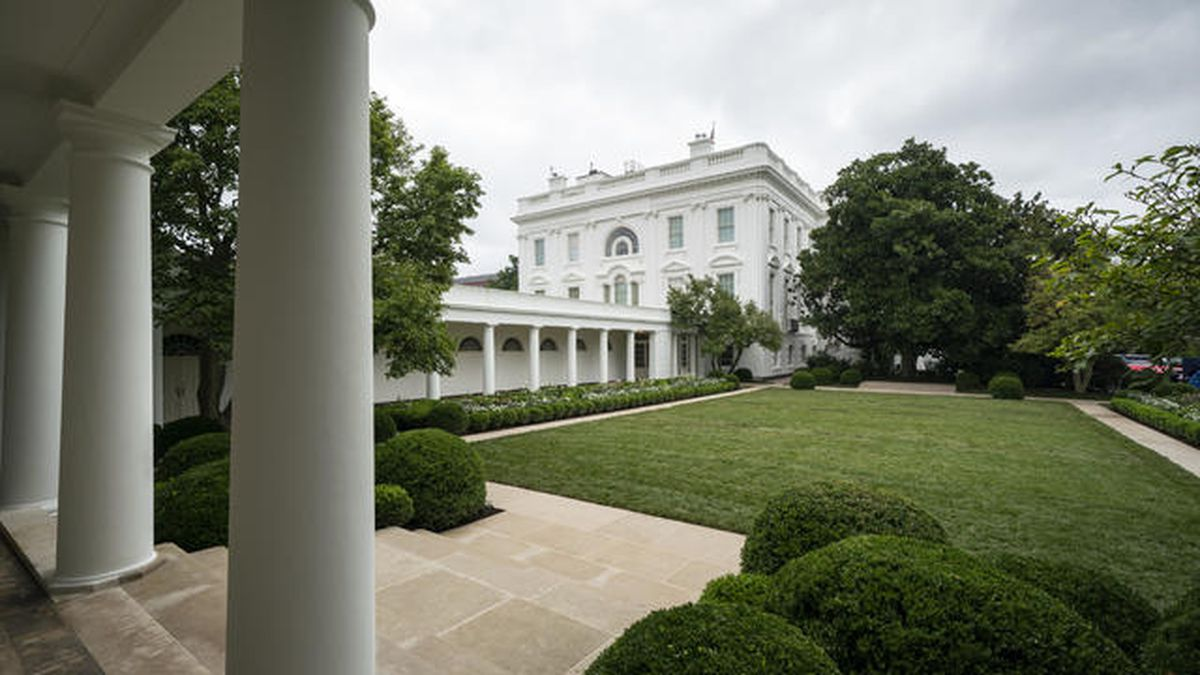 First Lady Melania Trump Unveils White House Rose Garden Changes Ahead Of Her Convention Speech